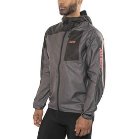 GORE WEAR R7 Gore-Tex Shakedry Hooded Jacket Men lava grey/black